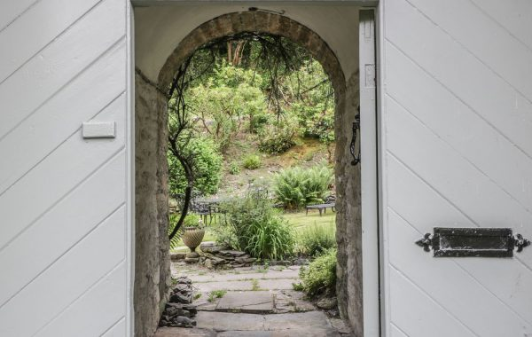 Archway to the garden