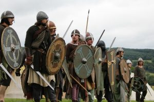 Battle of Crogen medieval weekend